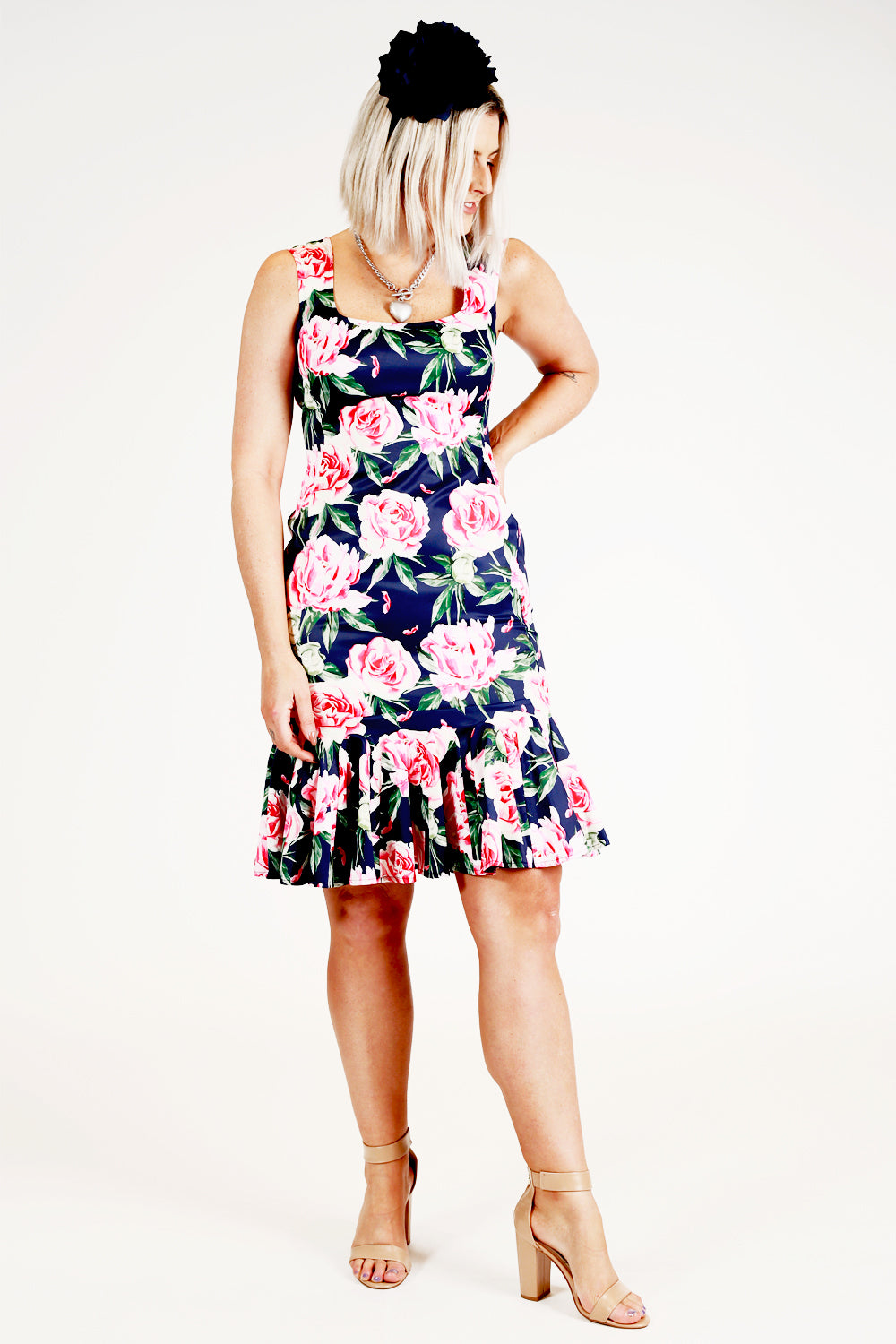 The Lost Lolly Dress - Pink Rose