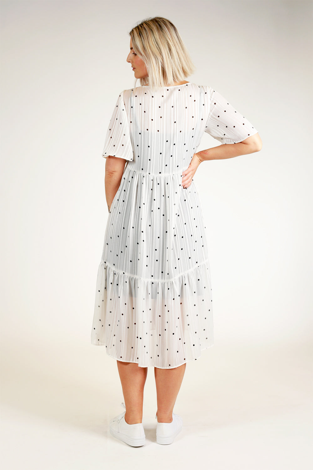 Jaffa Family Dress - White