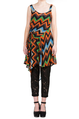 Starburst Tunic Top