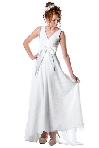 Charlotte Didion Wrap Wedding Dress