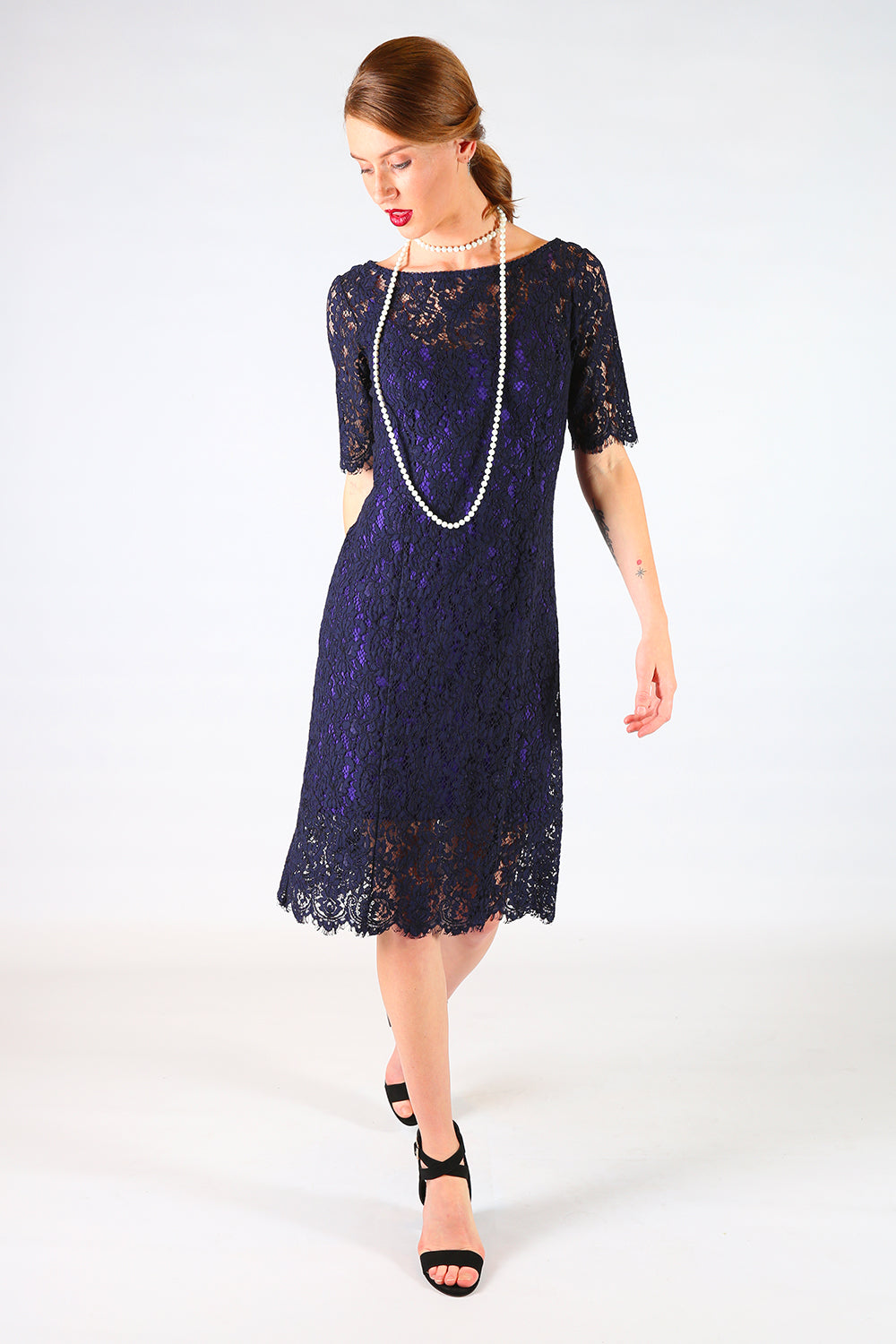 Aleena Tina Lace Dress