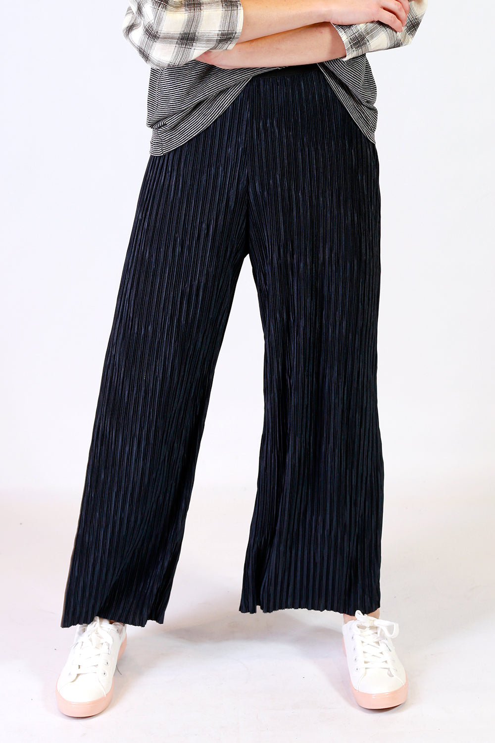 Alex Pleat Culotte Pant