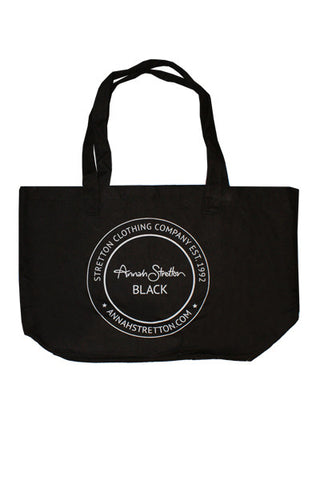 Black Label Tote Bag