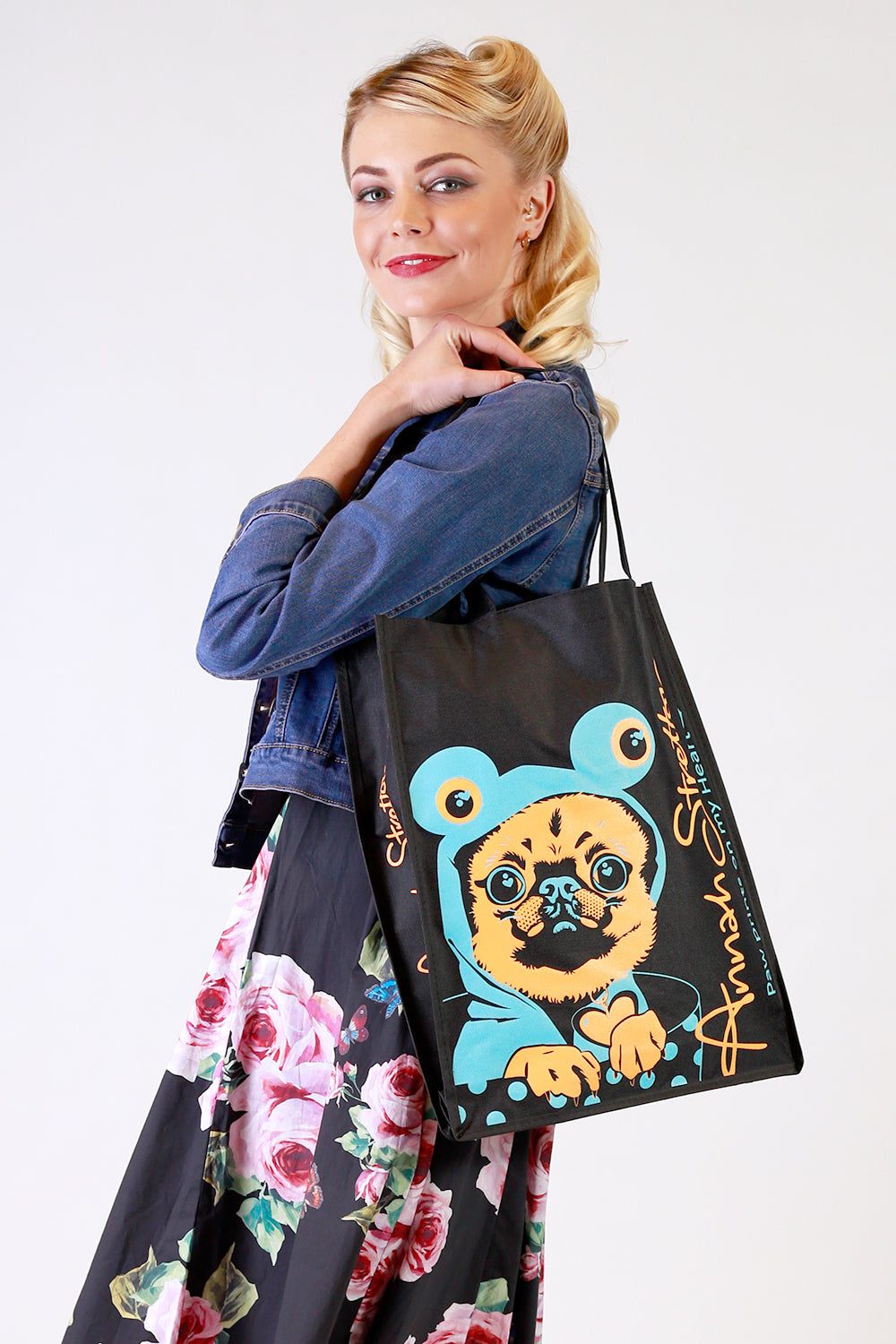 Save The Planet - Puppy Canvas Bag