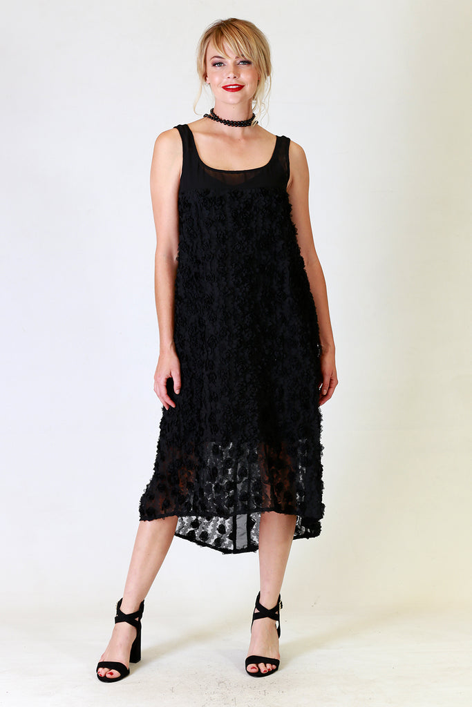 Daisy Dee Lace Dress | Black Lace Dress | Autumn Winter 19 Annah Stretton Fashion NZ