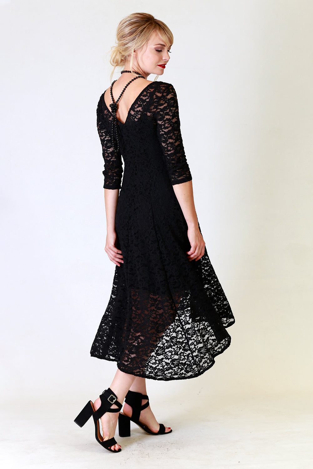 Summer Selina Lace Dress | Black Lace Dress | Autumn Winter 19 Annah Stretton Fashion NZ