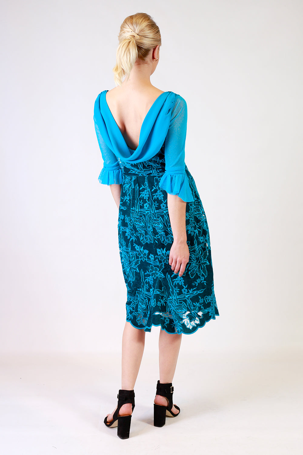 Breathless Bliss Velvet Dress