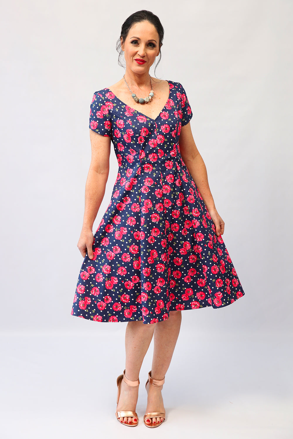Bridgette Betty Dress | Cotton Dress | Floral Dresses | Annah Stretton