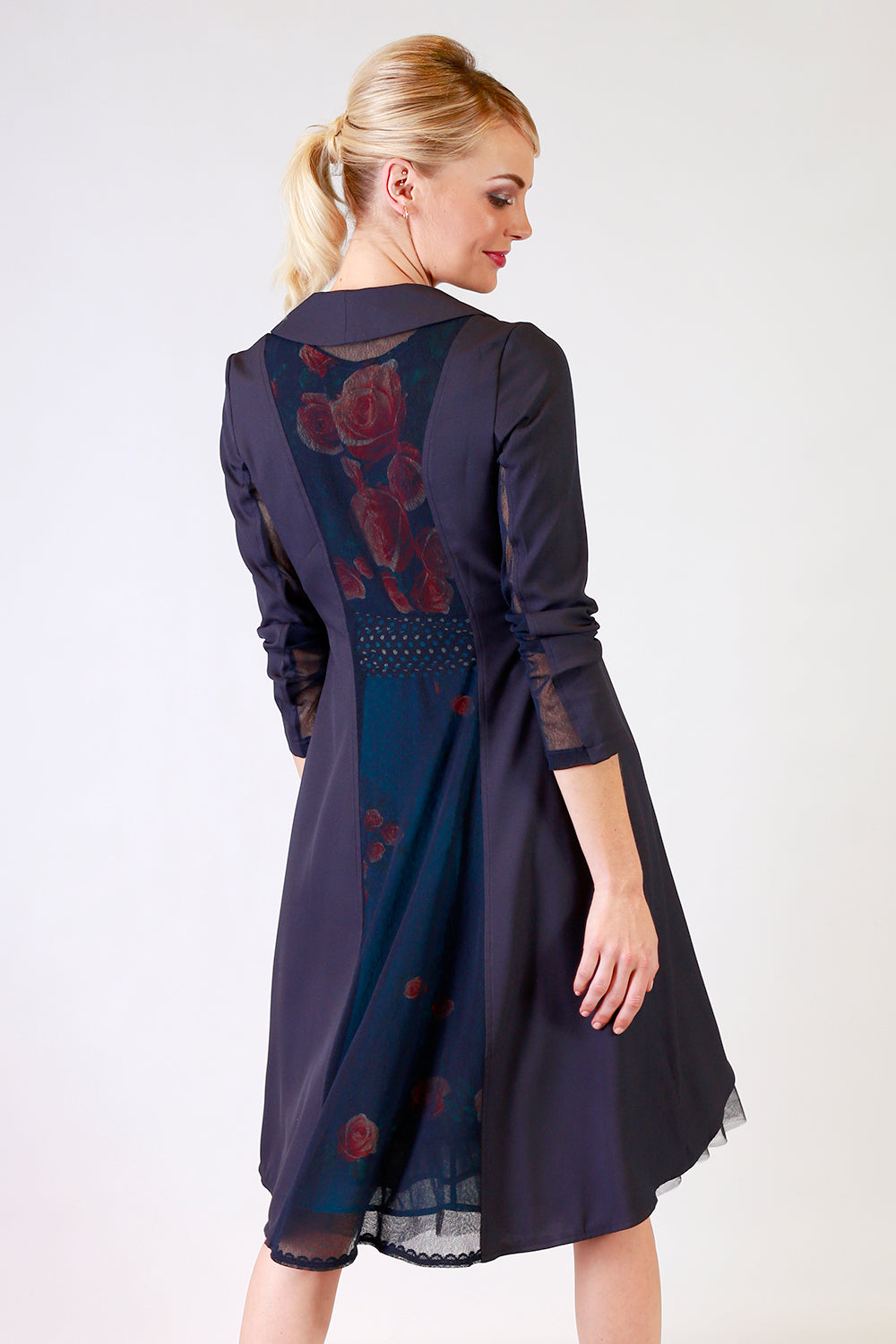 Brisa Bailey Jacket - Navy