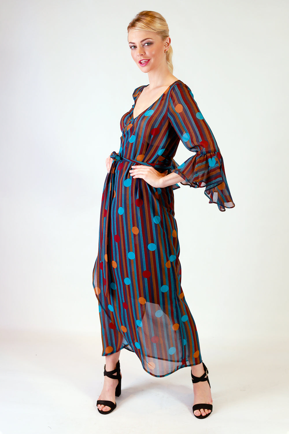 Carah Lee Wrap Dress