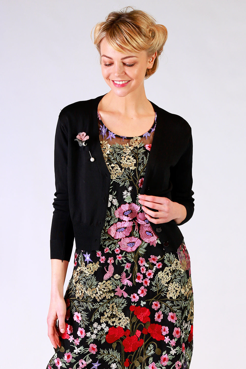 Love Poem Cardigan - Black