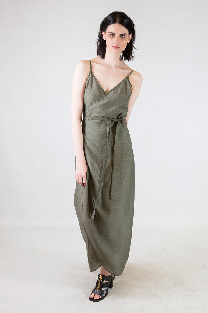 Carter Wrap Dress | Young + Resolute | Annah Stretton