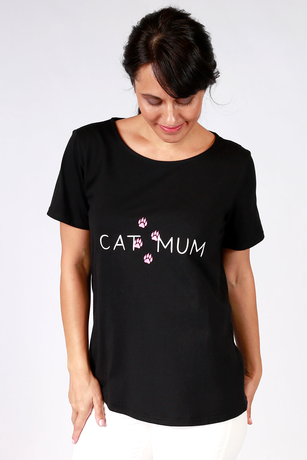 The Cat Mum Tee