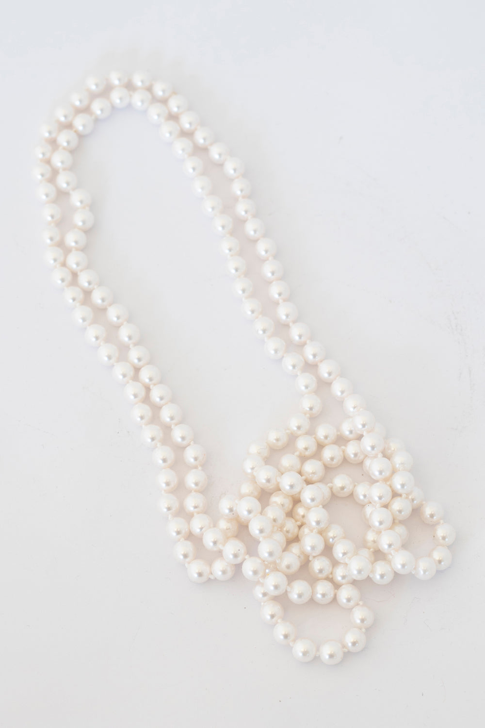 White Pearls Necklace | Annah Stretton | Designer Accessories