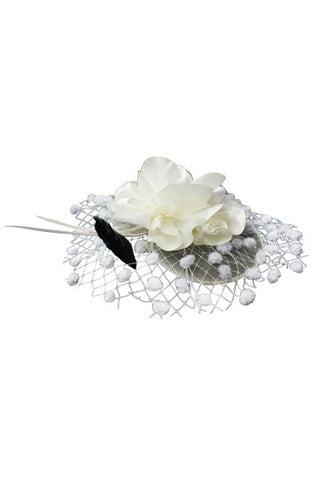 Dotty Mesh Fascinator