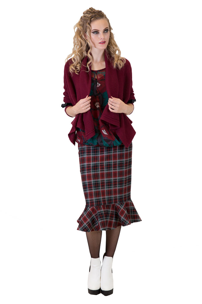 Rochelle Roxanne Skirt | Plaid Skirts | Work Wear