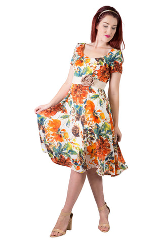 Virginia Tori Dress | Garden Party | Cotton Dresses | Dress For Party