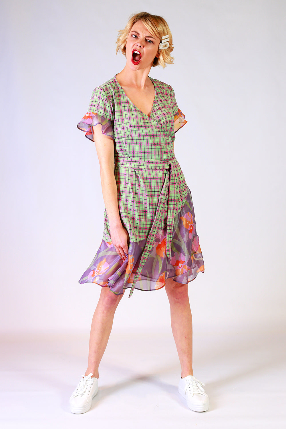 Clara Wrap Dress | Everybody Loves Lucy Dresses NZ | Womens Fashion NZ | Wedding Guest Dress NZ | Occasion Dress NZ | Floral Dress
