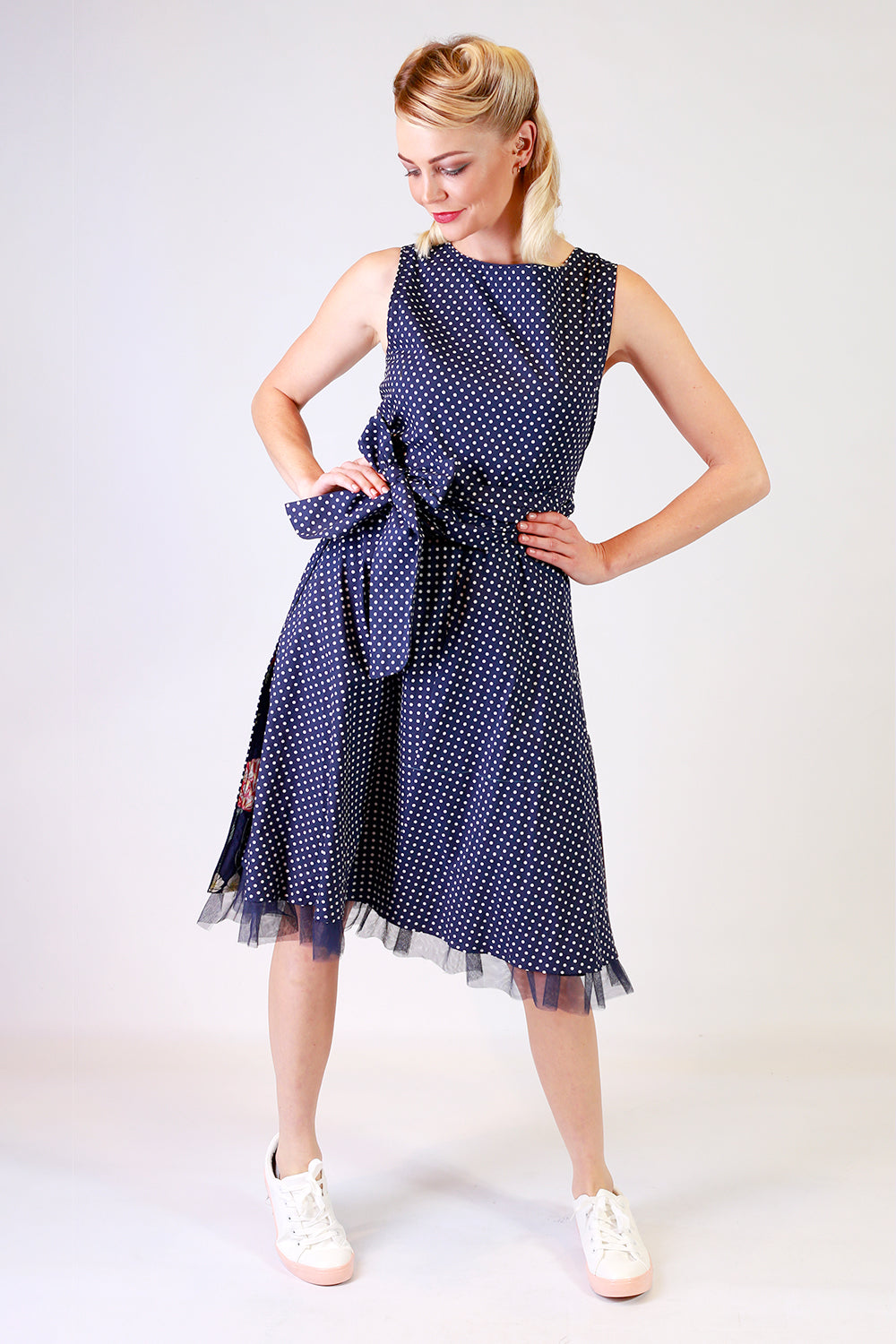 Tied with Ribbon Flipit Wrap Dress