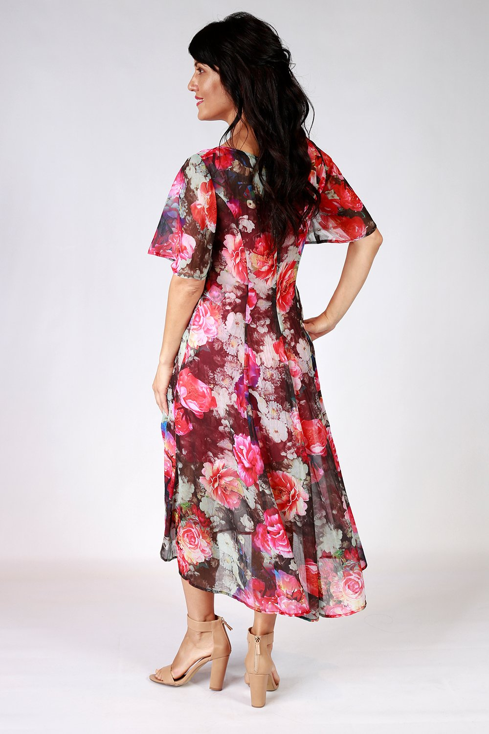 Darla Dress | Annah Stretton | Floral Dress | Occasion Dress | Annah Stretton Fashion | Designer Dress