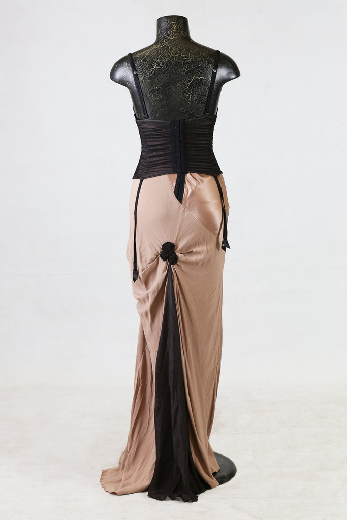Suspender Gown | AS Vintage | Occasion Dress | New Zealand Designer  | Annah Stretton