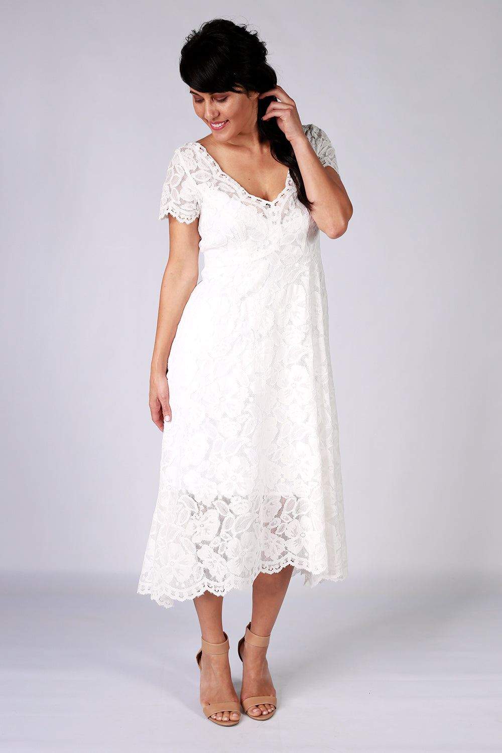 Moon Flower Dress | Lace Dress | New Zealand Fashion Designer | Annah Stretton | Wedding Dress | Wedding Dress NZ