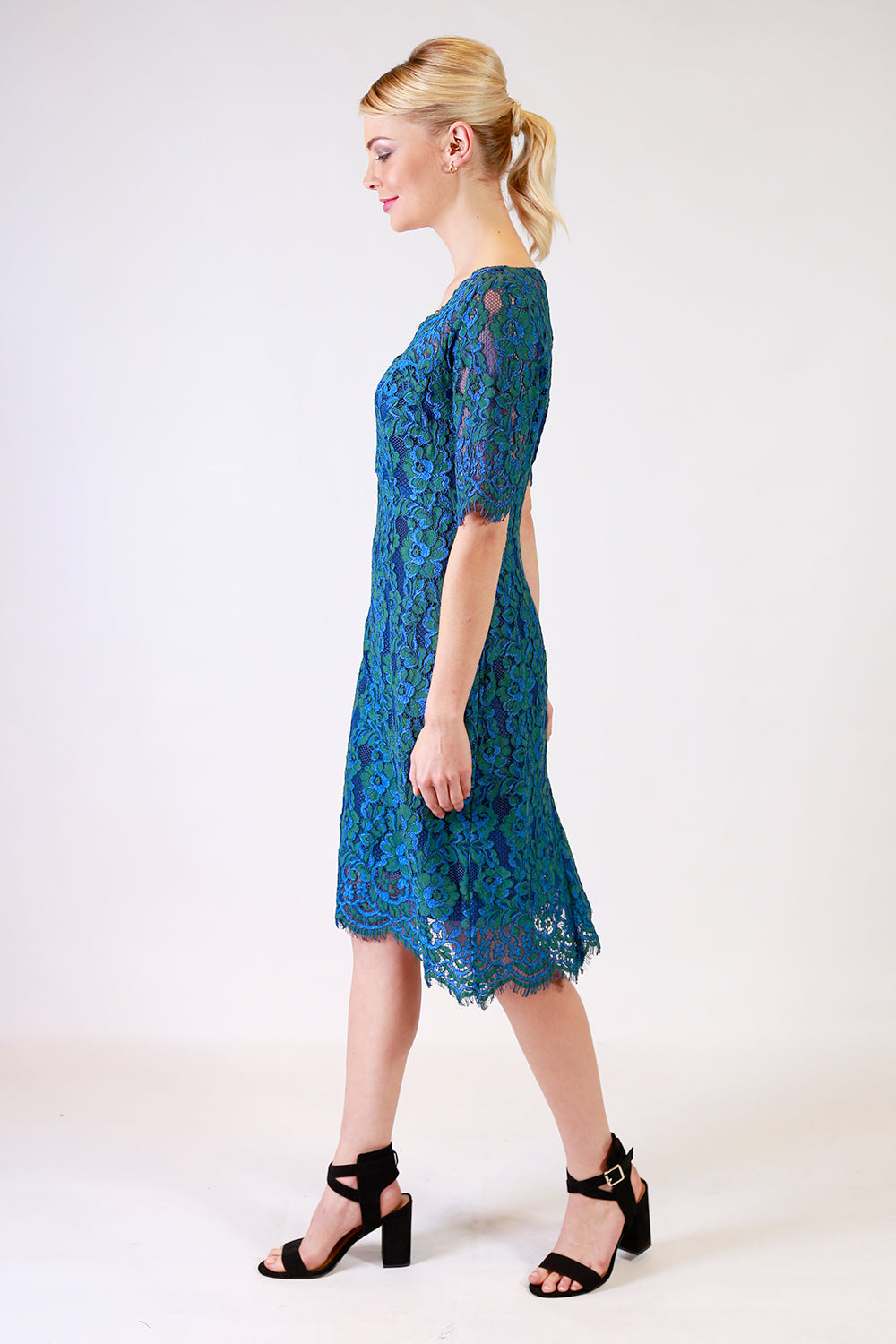 Chenille Sharne Dress | Occasion Dresses | Lace Dresses | Fashion Design | Annah Stretton | New Zealand Fashion Designer