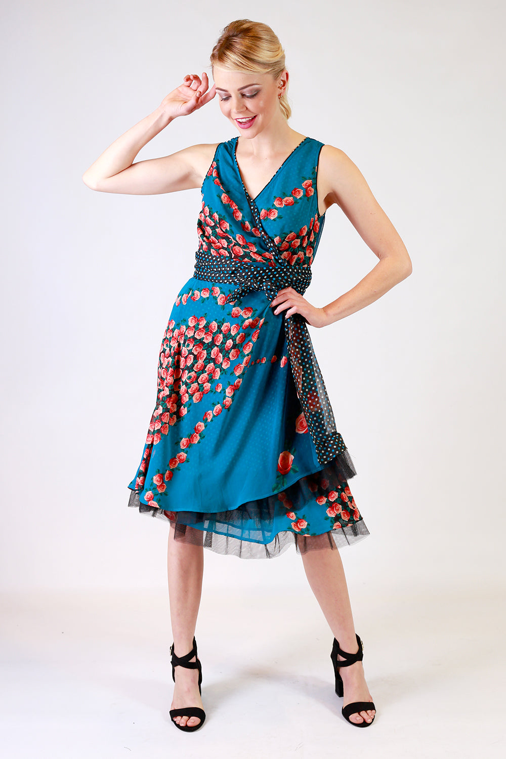 Address Unknown Flipit Wrap Dress | Wrap Around Dresses NZ | Designer Fashion NZ | Floral Dresses NZ