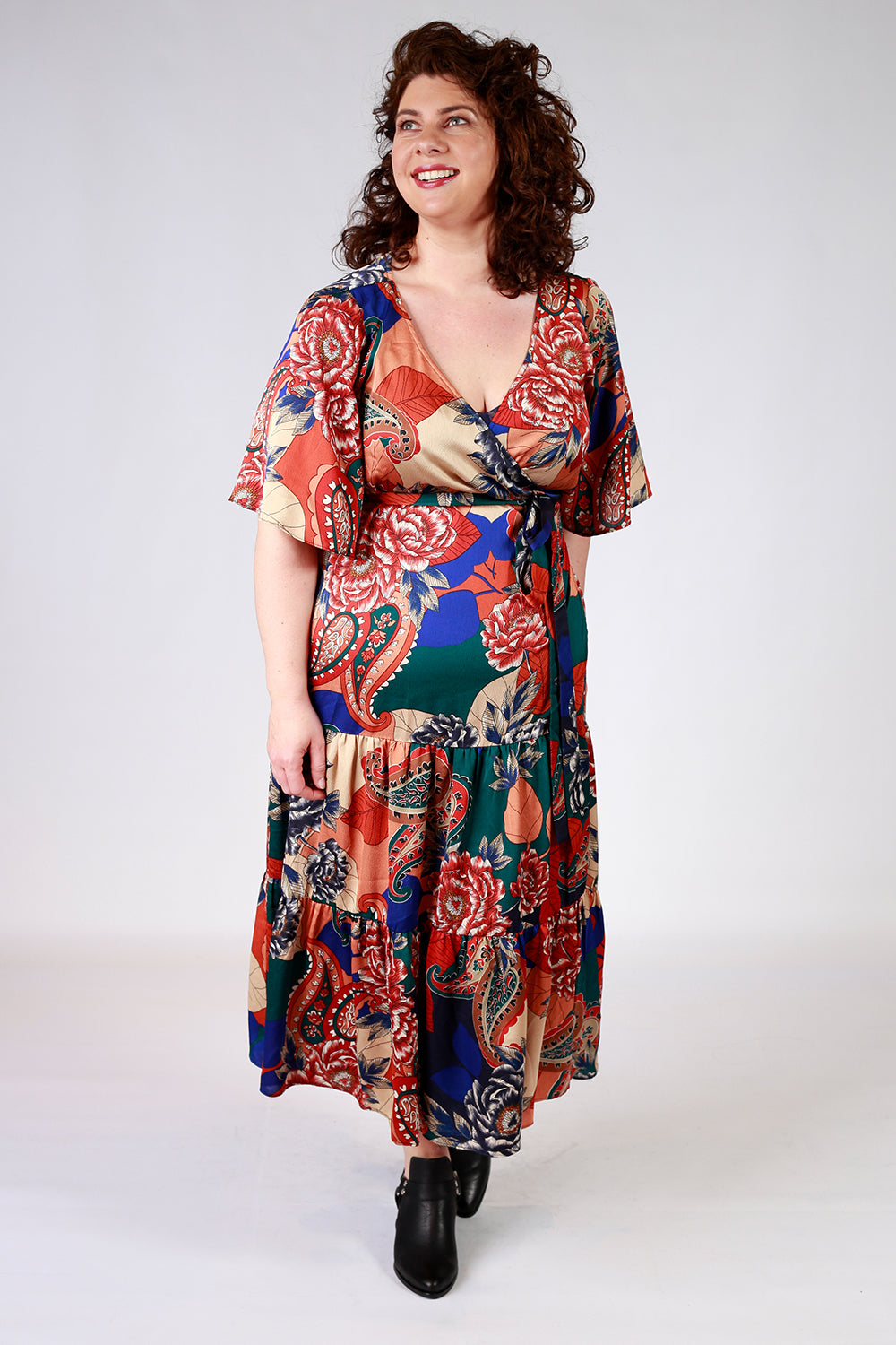 Madly Mertle Wrap Dress - LAST ONES