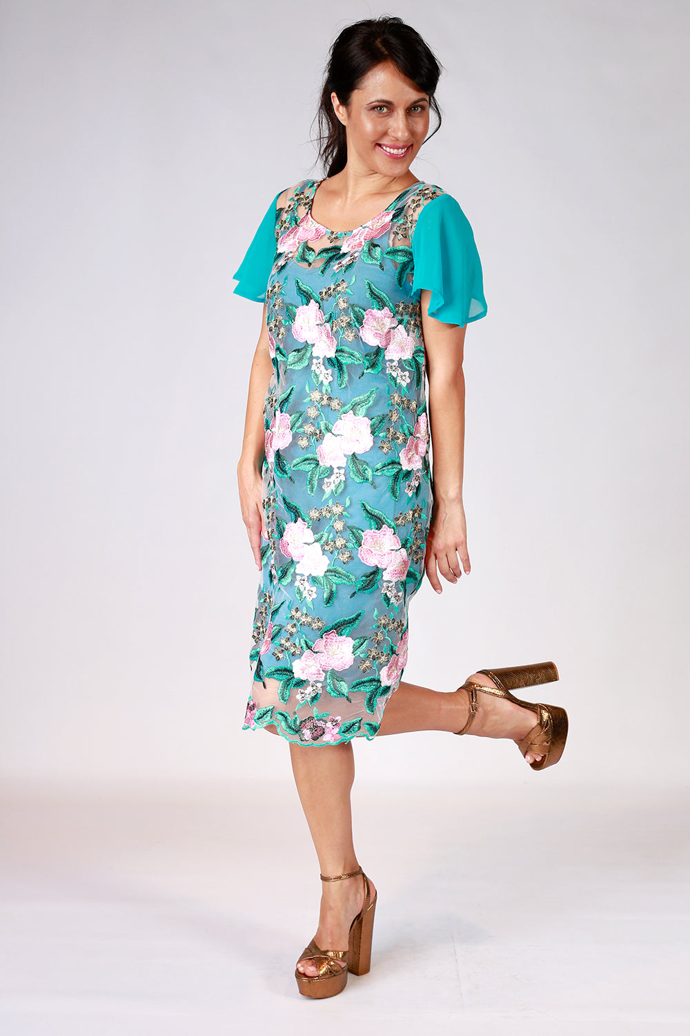 Pansy Pond Dress