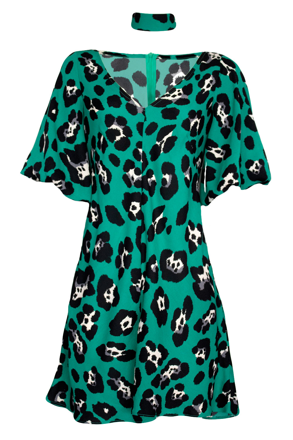Imogen Playsuit Dress | Everybody Loves Lucy Dresses NZ | Womens Fashion NZ | Playsuit NZ | Occasion Dress NZ | Leopard Print