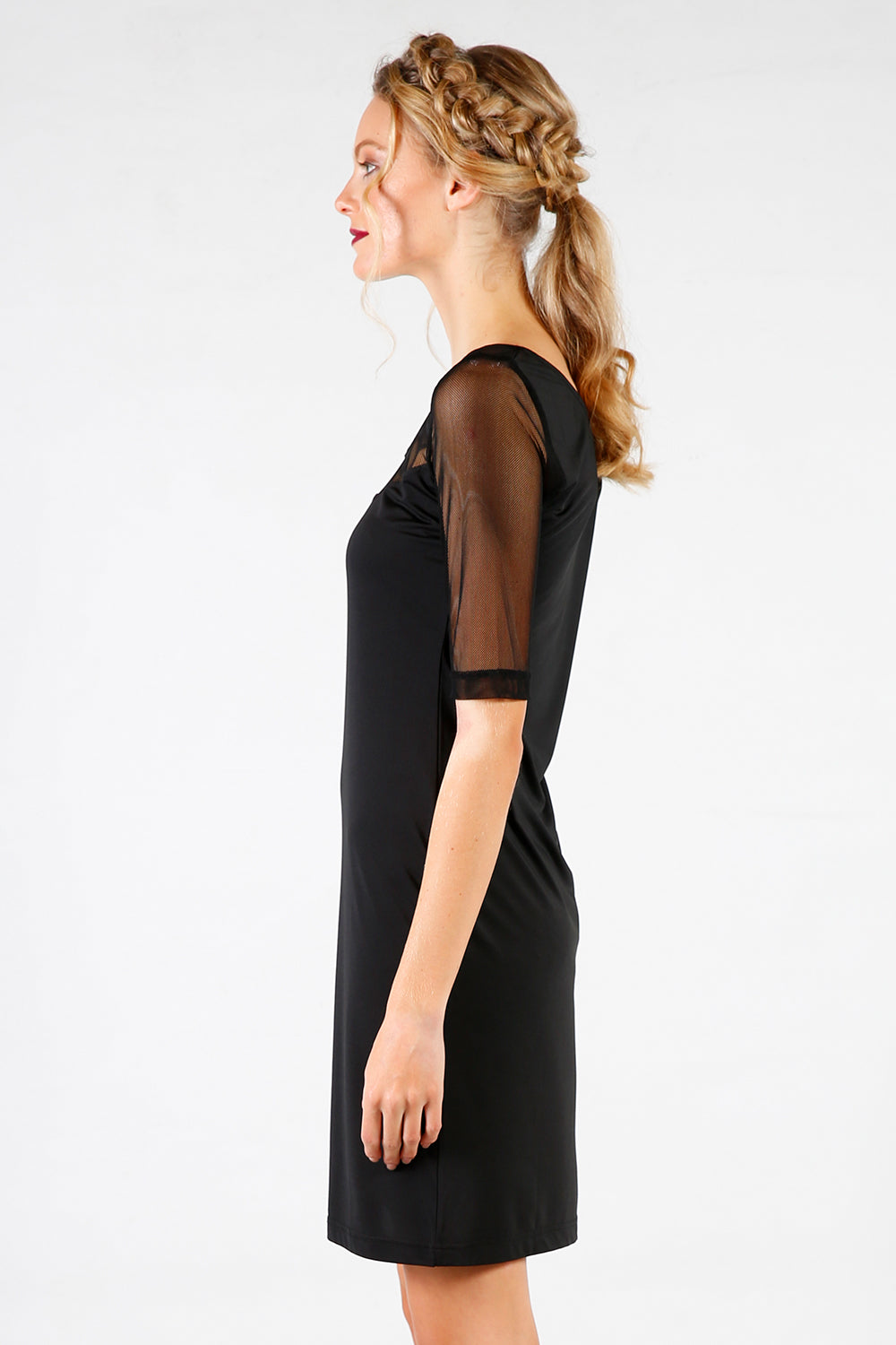 Fix Bit Slip | Undergarments | 3/4 sleeve | Black Slip | New Zealand Fashion | Annah Stretton