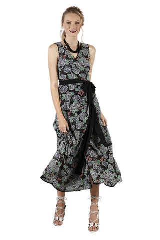 Maxi Wrap Dana Dress