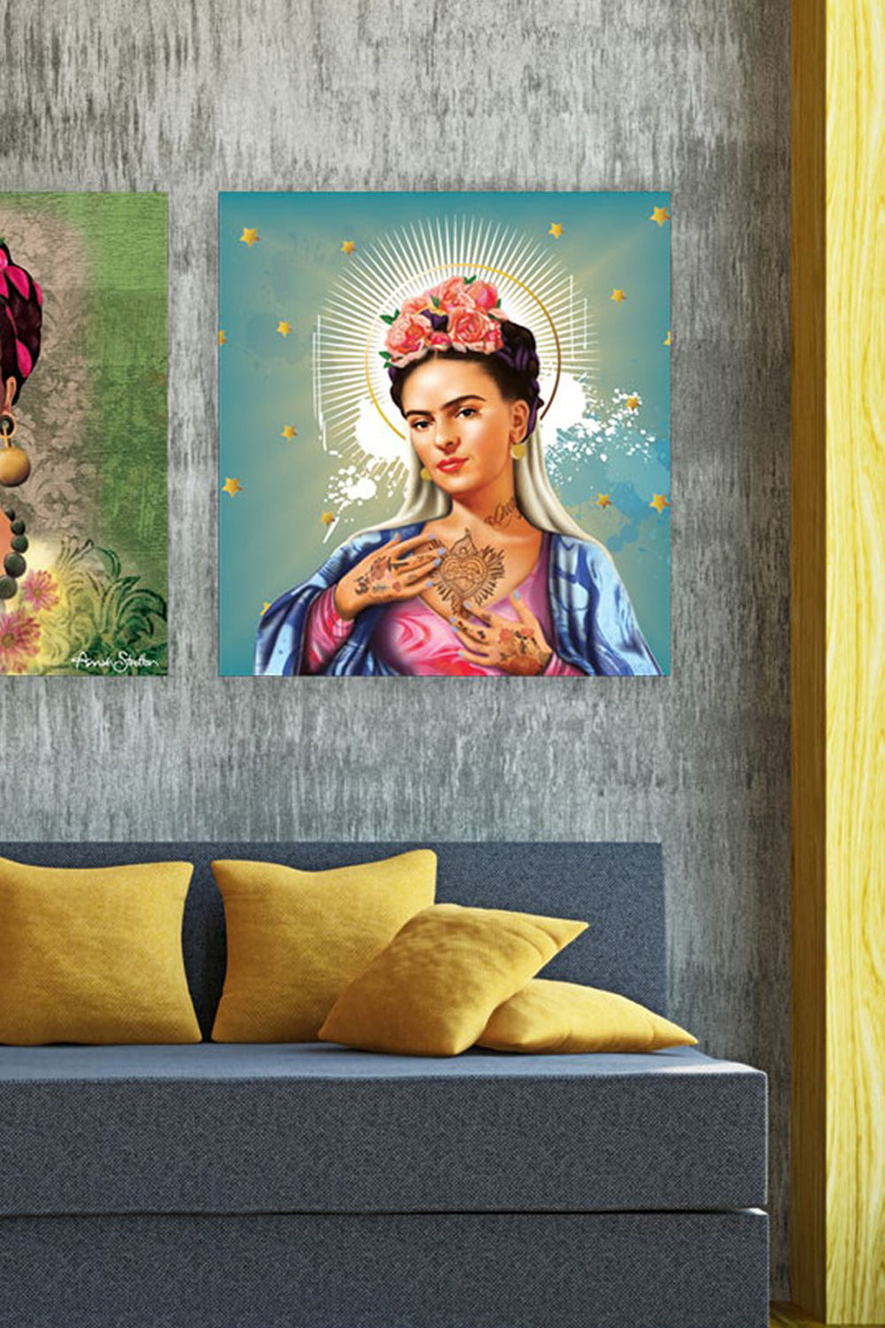 Mary of Frida Print