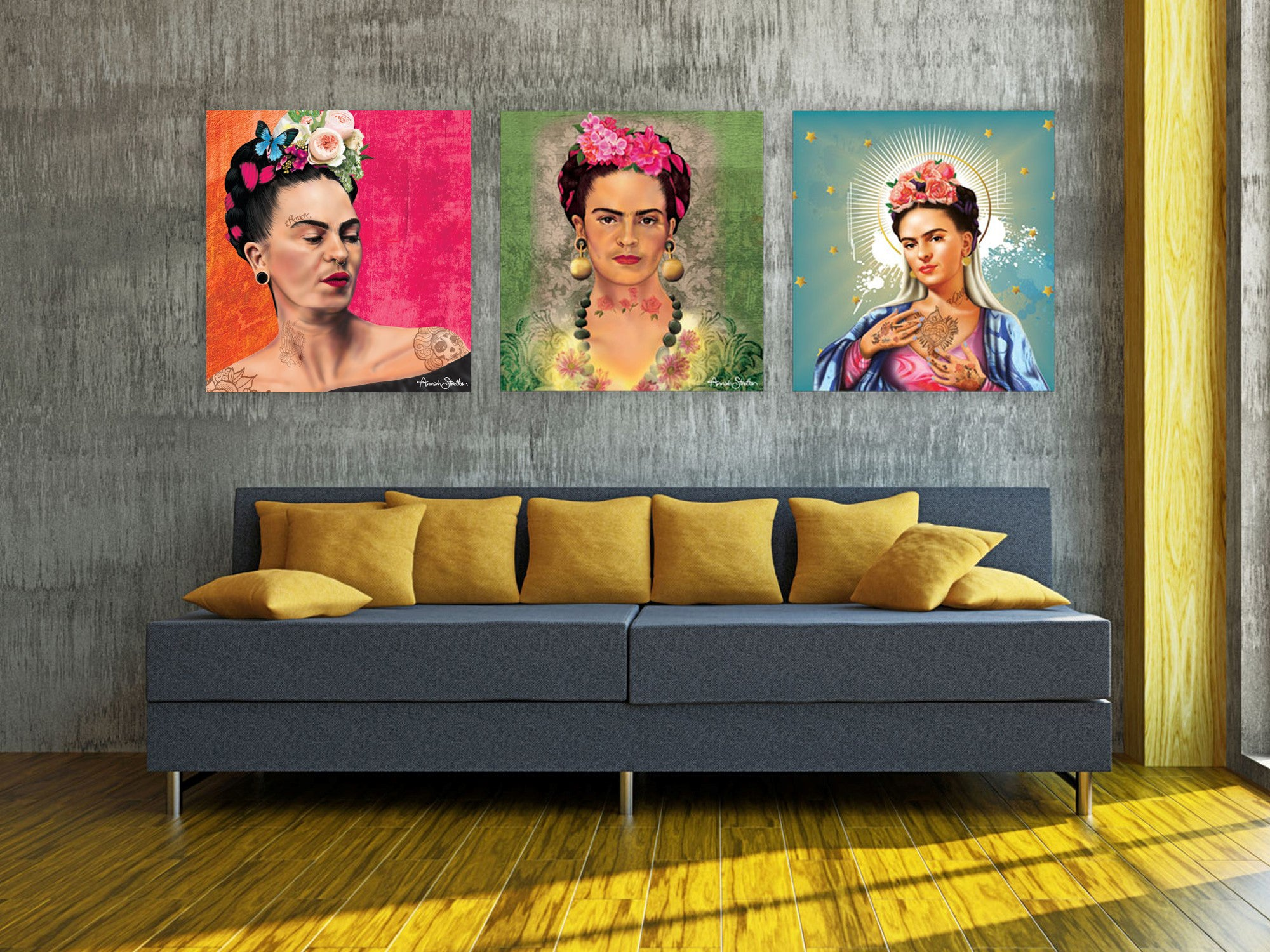 Flowers of Frida Print