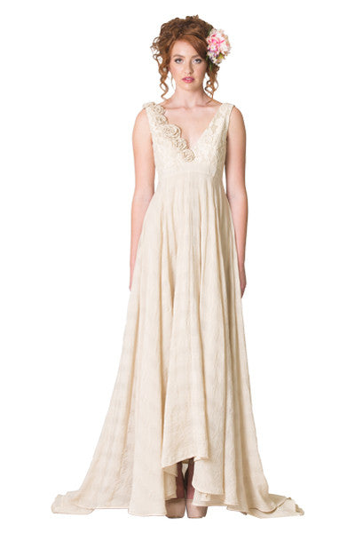 Didion Rose Honey Wedding Dress | Cream Wedding Dresses | Vintage | Annah Stretton