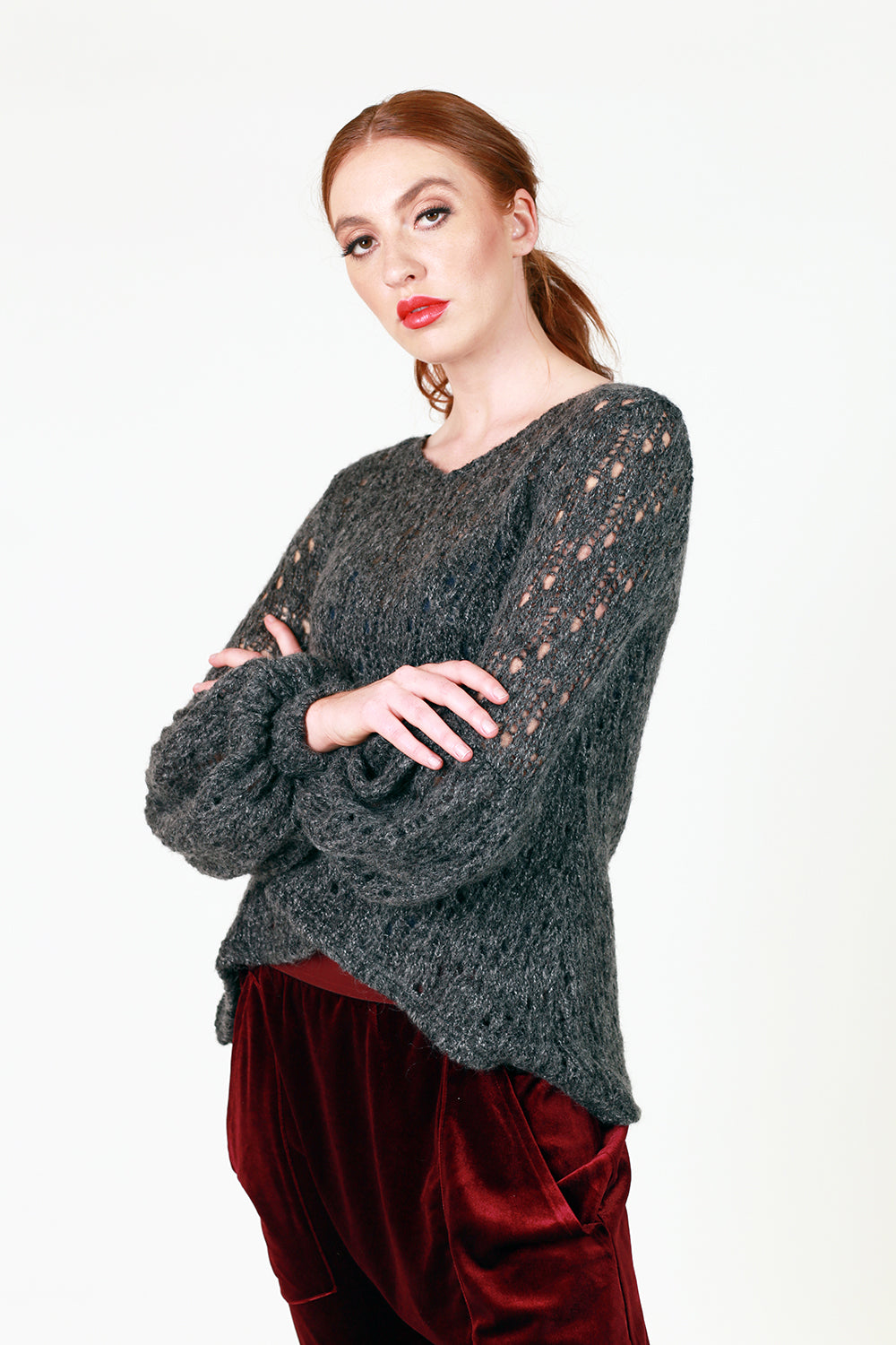 Izzy Jumper - Dark Grey