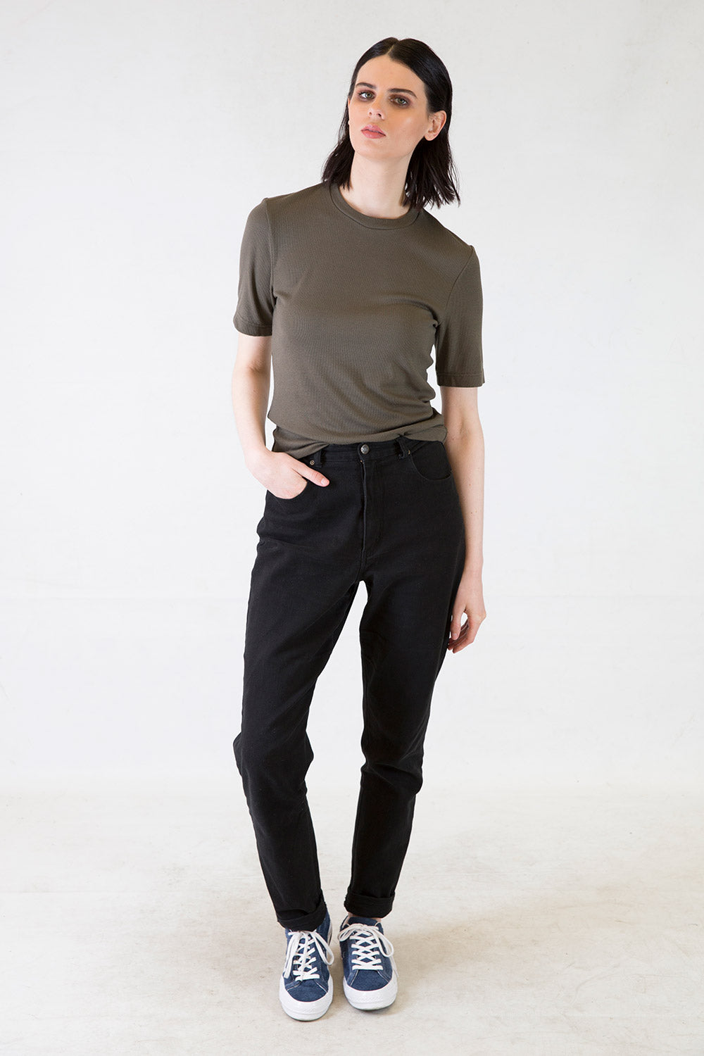Jake Rib Tee | Young + Resolute | Annah Stretton