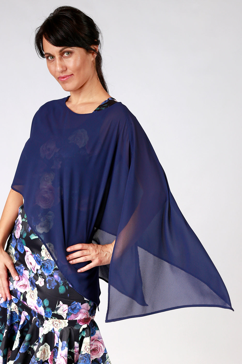 Paloma Cape Top