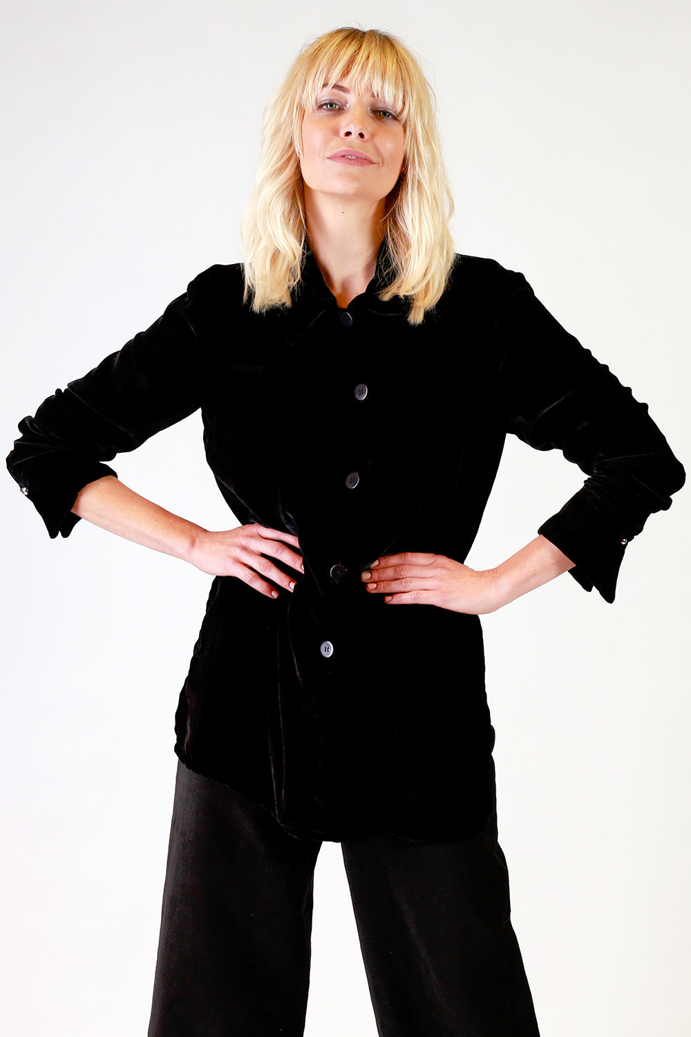 Y+R Johnny Velvet Shirt