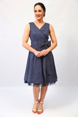 Kellie Cotton FlipIt Wrap Dress