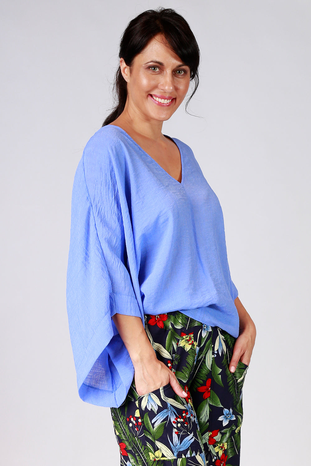 Pearly Top | Relaxed Fit Top NZ | Designer Fashion NZ | Tops NZ