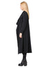 Black Gemma Coat - designer Winter Fashion by Annah Stretton