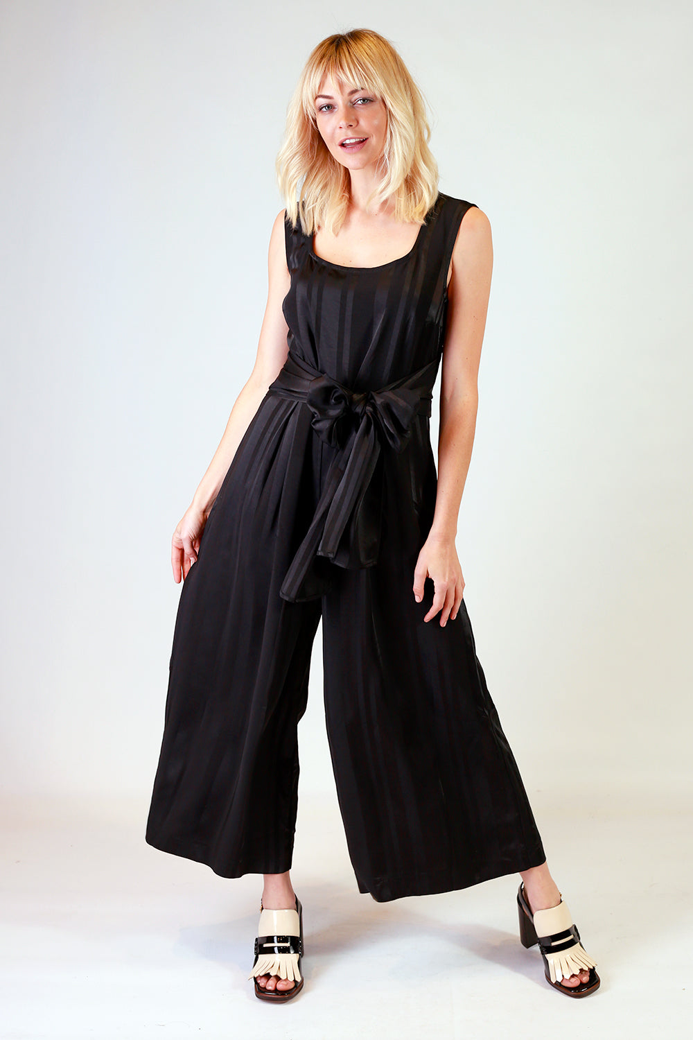 Lucy Lana Jumpsuit Black