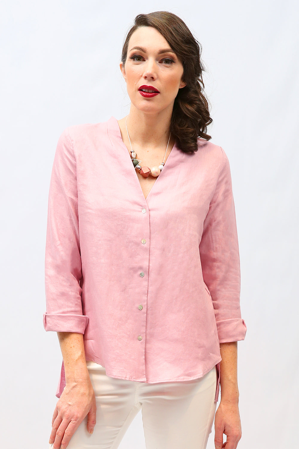 Lyra Lilly Linen Shirt