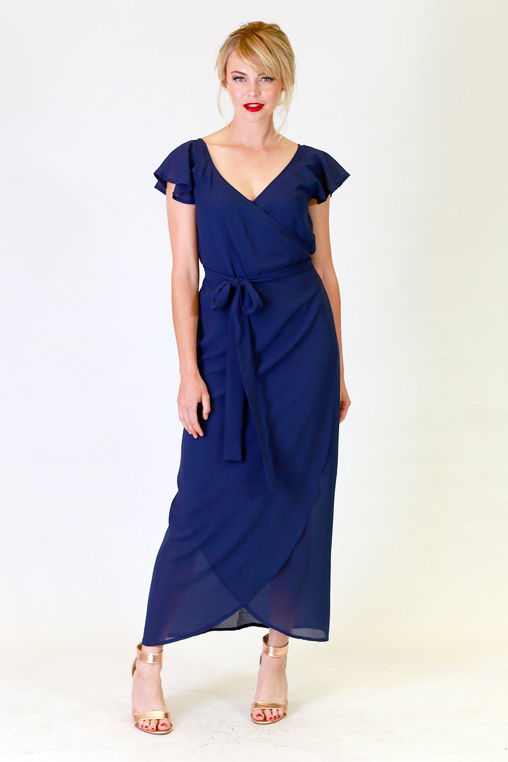Mandy May Navy Dress