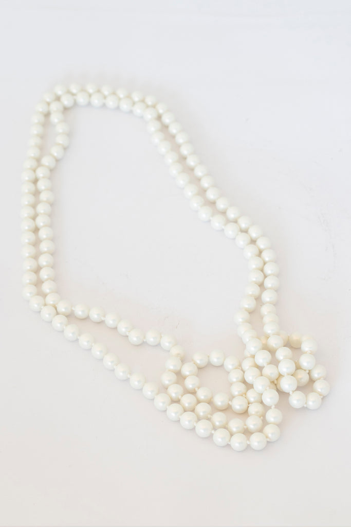 Matte Costume Pearls