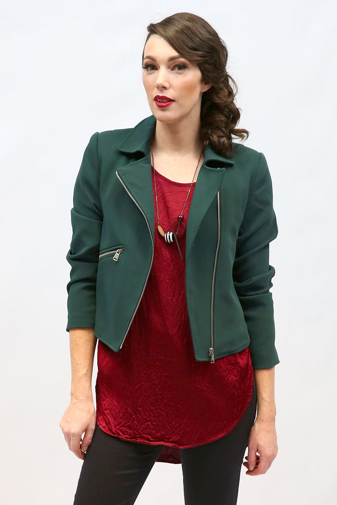 Mattie Mia Jacket | Joy | New Zealand Fashion Designer | Jacket | Annah Stretton
