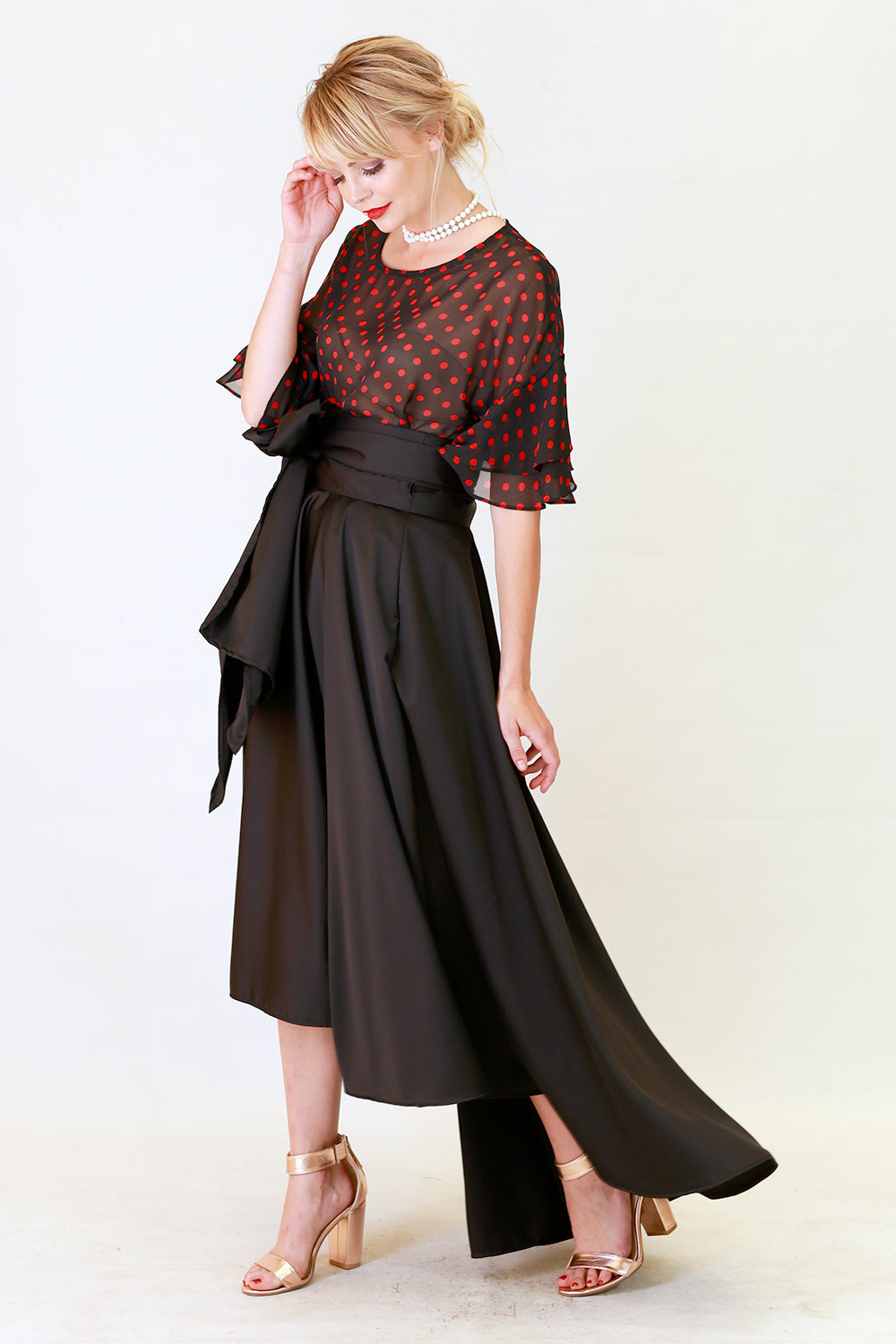 Miriam Kay Skirt | Wrap Around Dresses Skirts | New Zealand Fashion | Annah Stretton