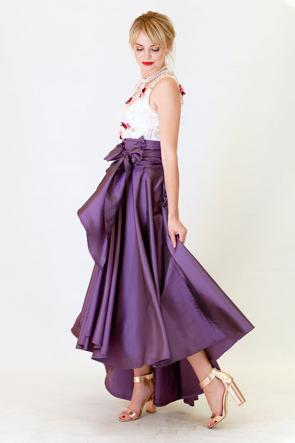 Miriam Marie Skirt | Wrap Around Dresses Skirts | New Zealand Fashion | Annah Stretton